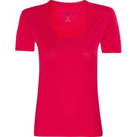 Odlo Cubic T-shirt à col ras-du-cou Femme, bittersweet